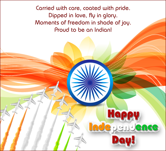 We Are Proud To Be An Indian!
