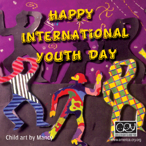 Happy International Youth Day To You!