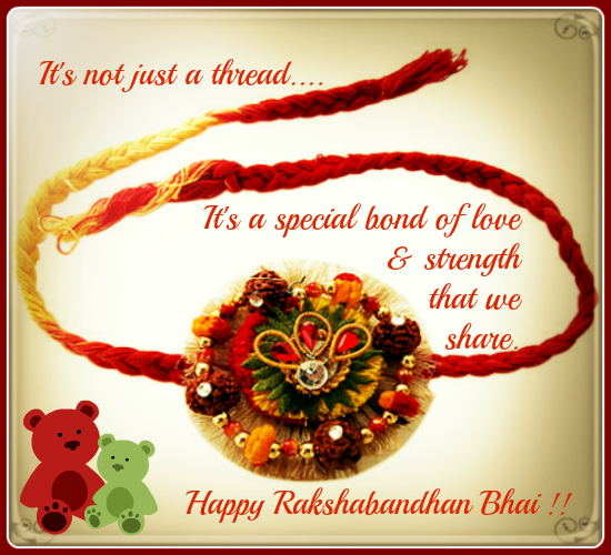 Raksha Bandhan - A Bond Of Strength.