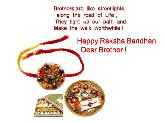Lovely Thoughts On Raksha Bandhan.