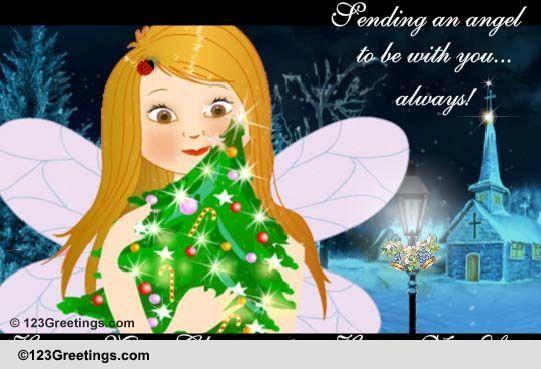 Send Christmas Angel Greetings!