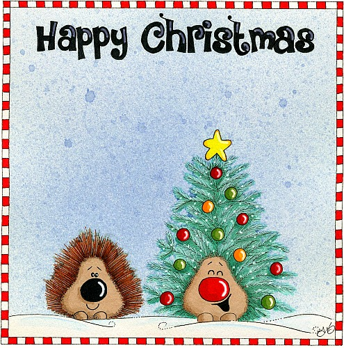 Happy Christmas Hedgehogs!