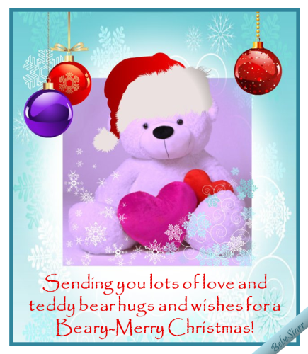 Beary-Merry Christmas!