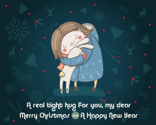 Send Christmas Hugs!