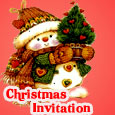 Invitation For Christmas Party!