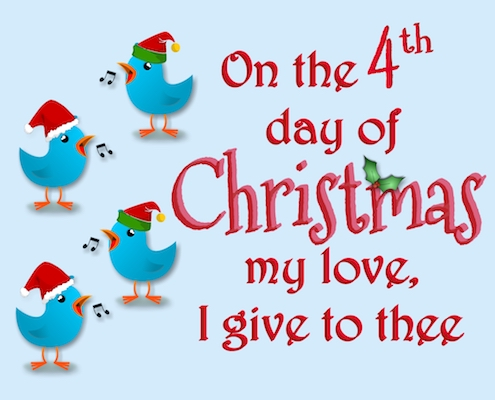 12 Days Of Christmas Love - 4th Day.