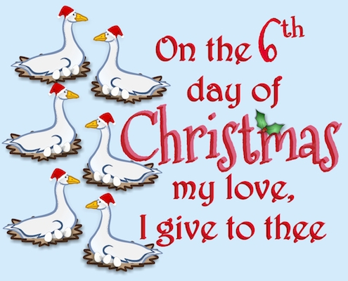 12 Days Of Christmas Love - 6th Day.
