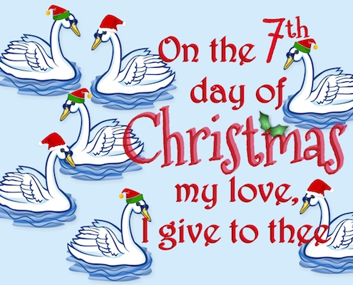 12 Days Of Christmas Love - 7th Day.