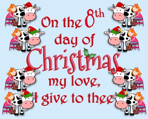 12 Days Of Christmas Love - 8th Day.
