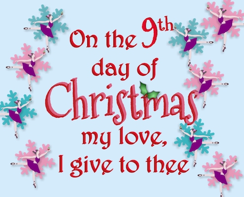 12 Days Of Christmas Love - 9th Day.