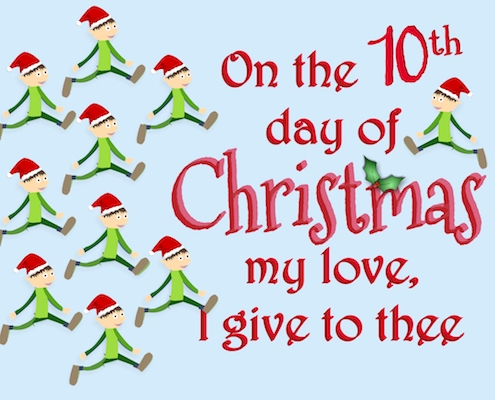 12 Days Of Christmas Love: 10th Day.