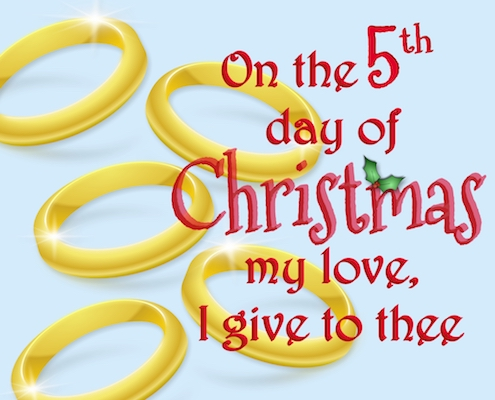 12 Days Of Christmas Love - 5th Day.