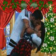 Kiss Me Under The Mistletoe.
