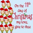 12 Days Of Christmas Love: 11th Day.