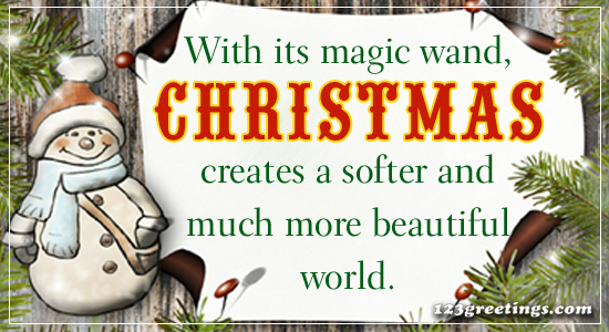 Beautiful Christmas Wishes!