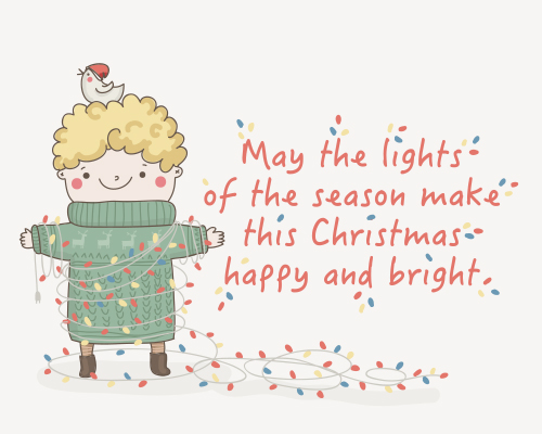 Happy & Bright Christmas.