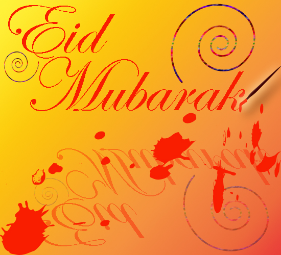 Eid Mubarak To You.