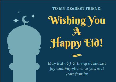 Wishes To Friends And Family.