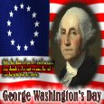 My George Washington's Day Card.