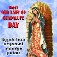 A Blessed Guadalupe Day Card For You.