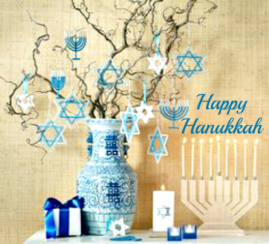 Happy Hanukkah To My Friend.