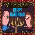 Hannukah Blessings Ecard For You.