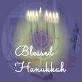 Blessed Hanukkah Light.