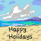 Happy Holidays Beach...