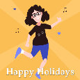 Happy Holidays Dance.
