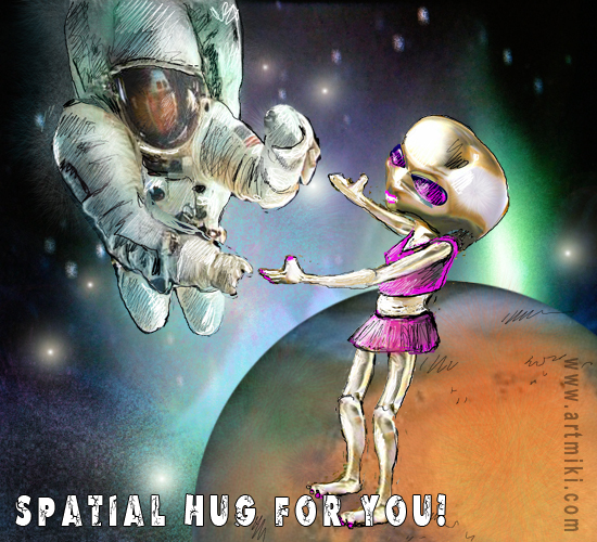Spatial Hug For You.