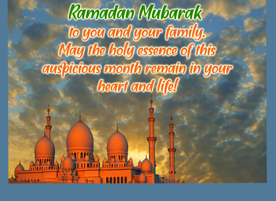 Warm Ramadan Wishes...