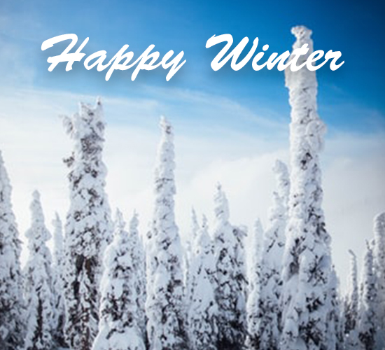 Happy Winter Ice...