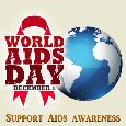 My World AIDS Day Awareness Card.