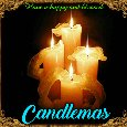 A Candlemas Greeting Card For You.