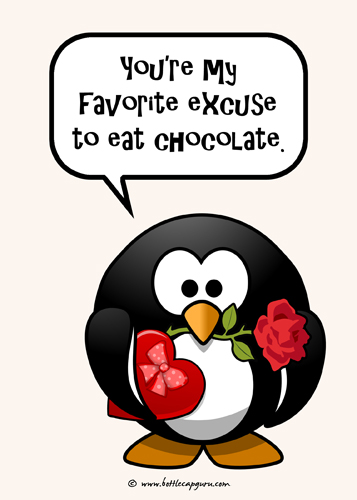My Favorite Excuse To Eat Chocolate.