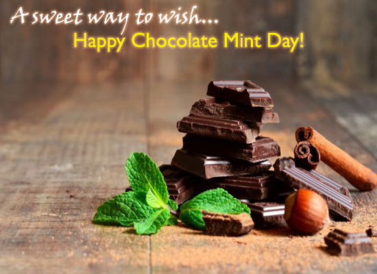 Happy Chocolate Mint Day!
