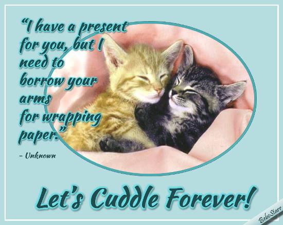 Send Cuddle Day Greetings!