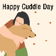 Happy Cuddle Day Doggy.