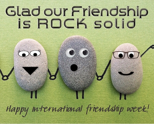 Rock Solid Friendship.