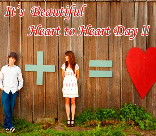 Send Heart To Heart Day!
