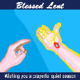 Blessed Lent, Christian..