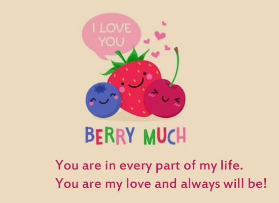 You Are My Love & Always Will Be!