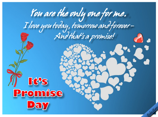 Send Promise Day Ecards!