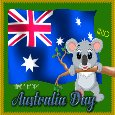 A Cute Australia Day Card For You.