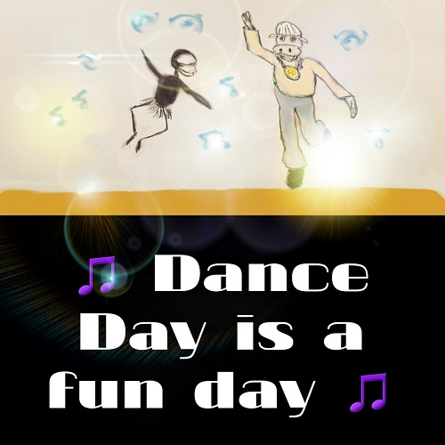 Fun And Dance Card.