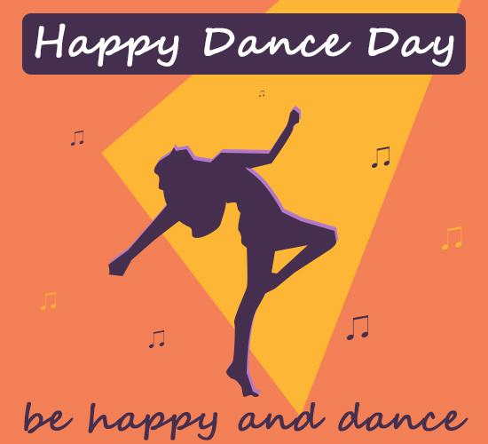 Happy Dance Day, Dance All Day.