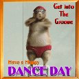 A Cute Dance Day Card.