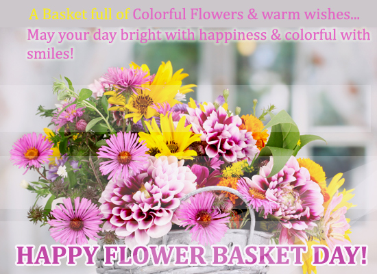 Colorful Flowers And Warm Wishes...