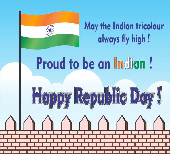 Happy republic day free republic day india ecards greeting cards happy republic day m4hsunfo