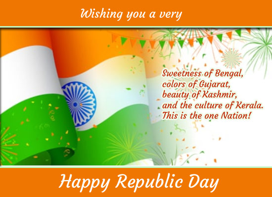 Republic Day India Cards Free Republic Day India Wishes 123